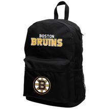 BOSTON BRUINS NHL TEAM SPRINTER BLACK BACKPACK SCHOOL BOOK BAG TRAVEL GY... - $15.99