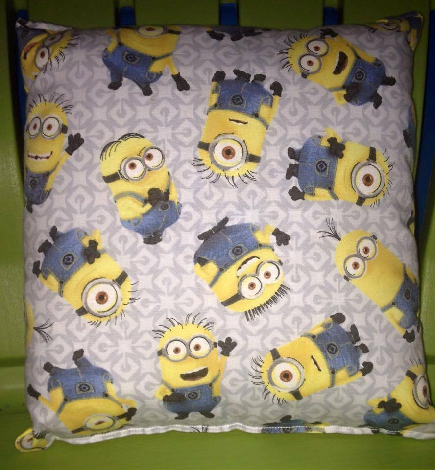 Minion Pillow Gromit Handmade Toddler Daycare Bed Throw Pillow Despicable ME New