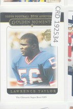 2005 Topps 50th Anniversary Lawrence Taylor LB New York Giants #324  192534 - $0.98