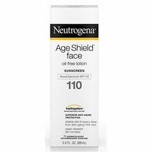 Neutrogena Age Shield Face Lotion Sunscreen, SPF 110, Oil-Free, 3 Fl. Oz - $14.36