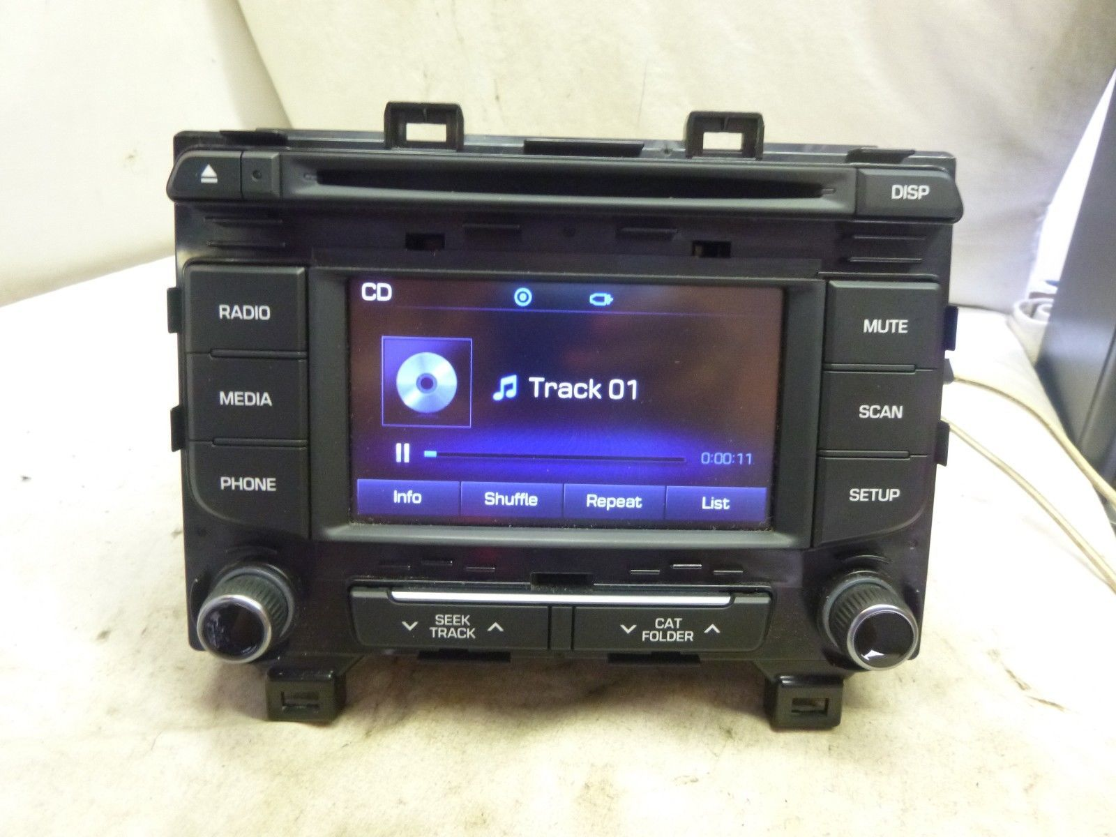 15 16 17 Hyundai Sonata Radio Cd Player 96180-C20004X Bulk 713
