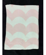 NEW Harper Canyon Pink Micro Waves Knit Baby Blanket Blanket SOFT  - $101.58