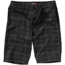 Quiksilver Men's Casual Dress Walking Shorts Black Gunsmoke  Sz 30 32 - $25.91