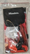 Master Lock Company Disc Brake Lock With Cable And Storage Bag image 1