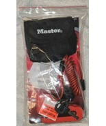 Master Lock Company Disc Brake Lock With Cable And Storage Bag - $27.42