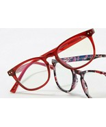Prive Revaux~Reading Glasses~RED~Show Off~+1.00~Prescription Quality Frames - $49.99