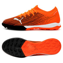 Puma Ultra 3.1 TT Turf Football Boots Soccer Cleats Shoes Orange 10608901 - $95.99