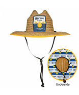Corona Extra Straw Lifeguard Hat With Repeating Label Under Brim Brown - $34.98