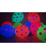 25 Pack 5 Color Assorted 11 inch Blacklight Reactive Latex Polka Dot Bal... - $13.95