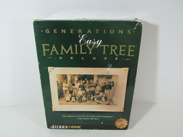 Generations Easy Family Tree Software deluxe Version - $19.79