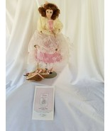 Romantic Flower Maidens - Porcelain Doll - Rose who is love  - $12.82