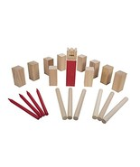 Triumph Kubb Viking Chess Outdoor Wooden Game Set Combines Bowling and H... - $28.02