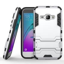 Hybrid Kickstand Protective Case for Samsung Galaxy J1 2016 / Amp 2 - Si... - $4.99