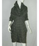 Allsaints All Saints Spitalfields Dress Brown Black Aurelius Tartan Plai... - $74.58
