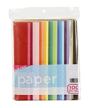 "ArtVerse 100-Piece Tissue Paper, 20"" x 26"", Assorted Colors Pack of 3 - $35.95"
