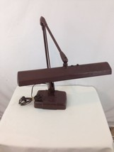 Vtg Mid Century Dazor 2324-16 Floating Fixture Drafting Industrial Desk ... - $78.21
