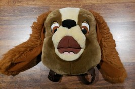 Disney Store Lady and The Tramp Lady Plush Head Backpack - $29.02