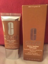 Clinique Even Better Refresh Foundation makeup in WN 114 Golden 1 oz Sealed - $19.35