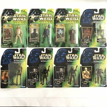 Star Wars Power of the Force an Power of the Jedi Lot of 8 NIB Death Sta... - $59.98