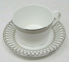 Monique Opulence Waterford Teacup & Saucer New 6 oz AP17 - $28.49