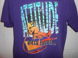 """Vintage 90s Boy Scout """"Attitude Gotta Have It"""" Rock Climbing T-Shirt Large - $19.99"""