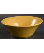 "Concentrix Saffron Yellow China Stoneware Coup Cereal Bowl, 65/8"" by Lyn... - $9.99"