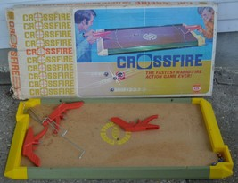 Vintage 1971 Crossfire Game - IDEAL - The Fastest Rapid-Fire Action Game Ever!  - $70.11