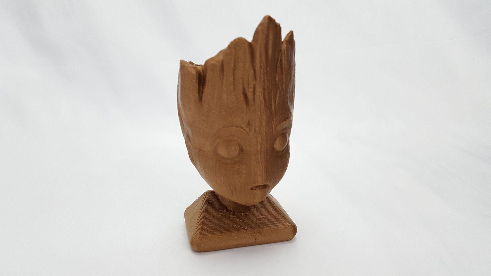 3D Printed Planter Pots by 3D Cauldron (Baby Tree Planter) Baby Tree Planter