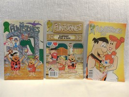 Flintstones 1987-88 Blackthorne Publishing 3D Comic Books #1, #2 and #4 - $9.95