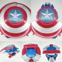 NERF Marvel Avengers Civil War Captain America Blaster Reveal Shield Dar... - $29.95