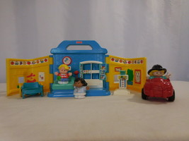 Little People Fisher Price 1999  Eddie's Doctor Visit Medical Office RARE - $38.63