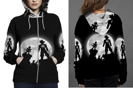 Hoodie Zipper womens Son-Goku-Vegeta-Vs-Goku - $46.70+