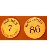 Pittsburgh Steelers Metal Pin LOT Big Ben Roethlisberger & Hines Ward Bu... - $12.84
