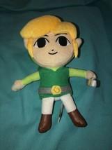 """Legend of Zelda Phantom Hourglass 7"""" Plush Doll Nintendo 2012 - $7.24"""