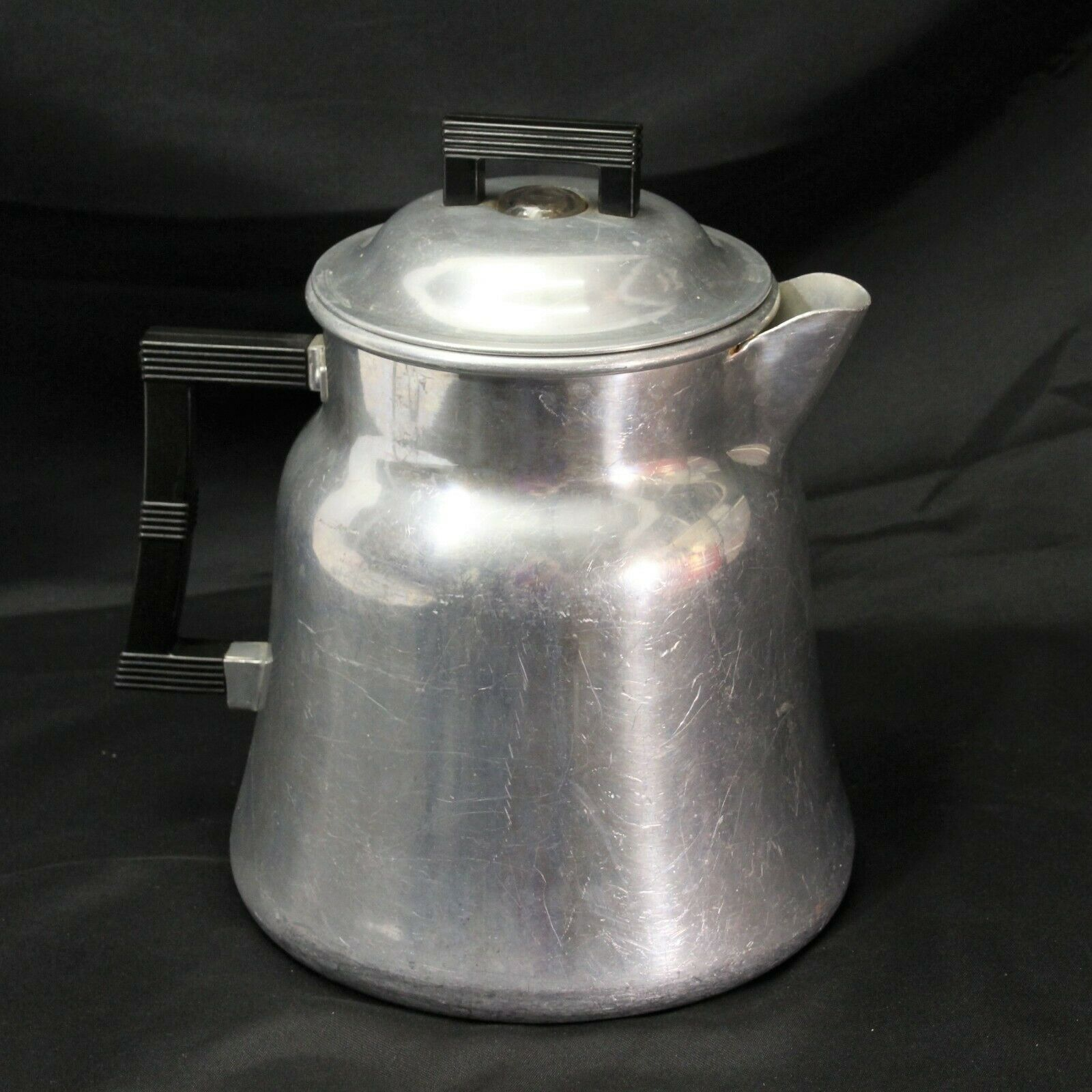 Wear Ever Coffee Pot Percolator 3016 Aluminum 16 cup Camping Outdoor Complete - $48.99
