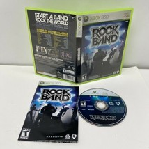 Rock Band (Microsoft Xbox 360, 2007) Manual Included - $4.99
