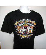 Mens Harley Davidson Ride Free Dillon Brothers Omaha T Shirt XL eagle logo - $28.66