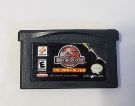 Jurassic Park III The DNA Factor - Nintendo GameBoy Advance GBA Game Car... - $10.39