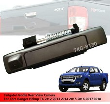 Black Tailgate Handle Rear View Camera For Ford Ranger T6 Pickup 2012 - ... - $119.99