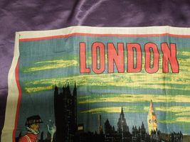 Vintage London by Night by Blackstaff Pure Irish Linen Towel Art image 7