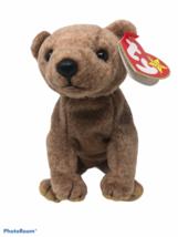 "Ty Beanie Babies 1999 Plush Pecan Bear #4251 16"" Retired Stuffed Animal Toy - $14.75"