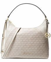 MICHAEL Michael Kors Aria Signature Shoulder Bag (Cream) - $262.64
