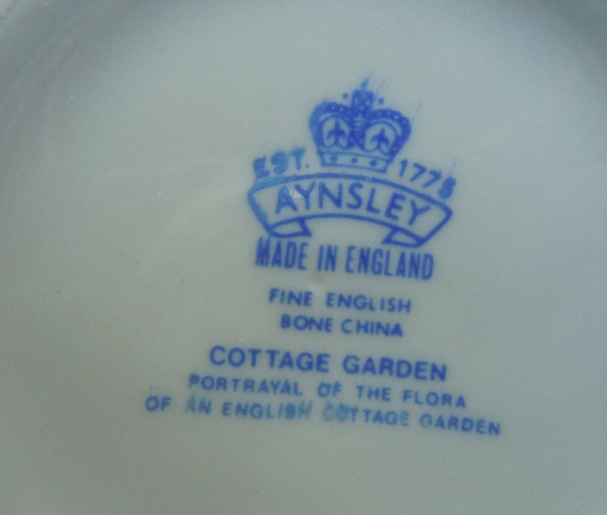 Aynsley Cottage Garden Variete Bowl