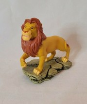 Disney The Lion King Mufasa Sculpted Enesco Figure - $9.89