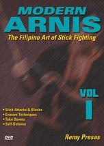 Modern Arnis Filipino Stick Fighting #1 attacks, takedowns ++ DVD Remy P... - $26.95