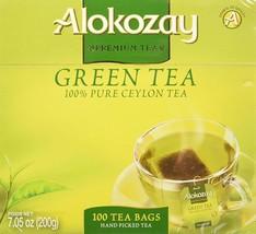 Alokozay Green Tea Bags 100 Tea Bags - $23.68