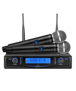 Technical Pro Professional UHF Dual Wireless Microphone System with Carr... - $161.92