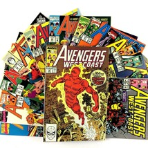 West Coast Avengers Comic Book Lot 14 Issues Marvel VF NM Iron Man White... - $24.70