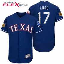 New Men's Texas Rangers 17 Shin-soo Choo Blue Spring Training Flex Base ... - €34,82 EUR