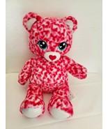 Build A Bear Sweet Scents Tiny Hearts Spots Plush Stuffed Animal Pink  - $24.73